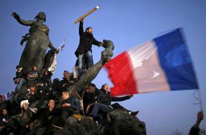 De Charlie Hebdo a una manifestación histórica