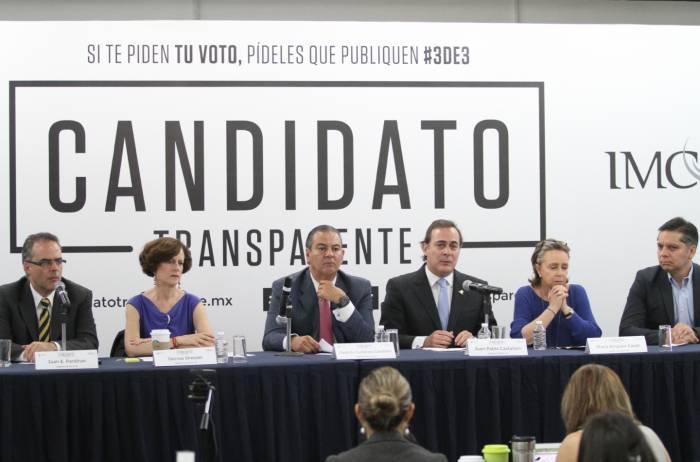 Habían una vez unos candidatos transparentes (3de3)