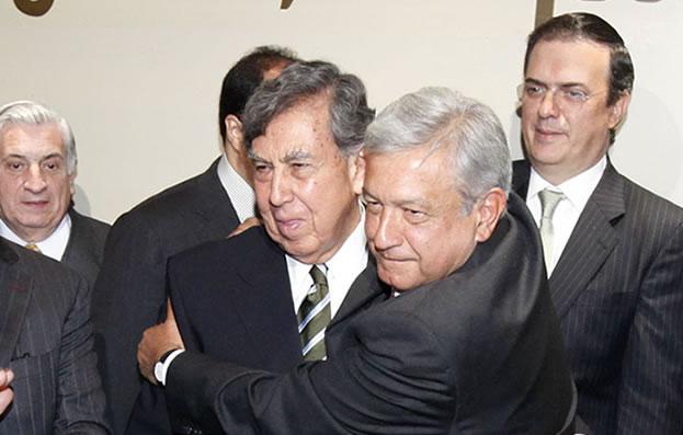 López Obrador y Cuauhtemoc Cárdenas