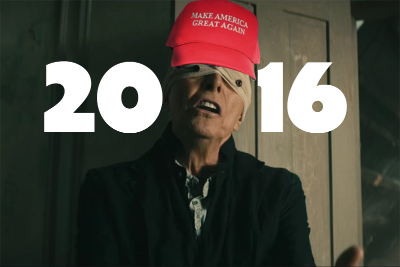 2016, ese año que tú tanto odias, pero nunca olvidarás