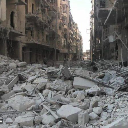 Aleppo, la ciudad que nadie ve y nadie oye