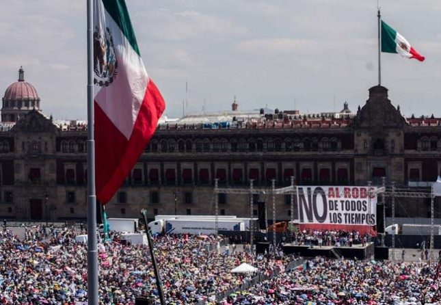 El oportunista Andrés Manuel López Obrador