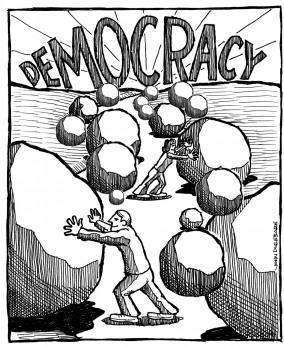 Democracia de dos patas