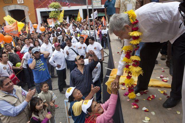 ¿Por qué la gente simpatiza con López Obrador?