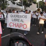 Marchando por el Chapo – Esa sociedad dañada y pervertida