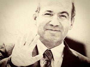 Felipe Calderón se despide, adiós Calderón.