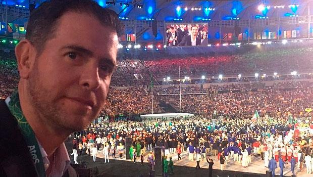 Alfredo Castillos en el aire de Río 2016