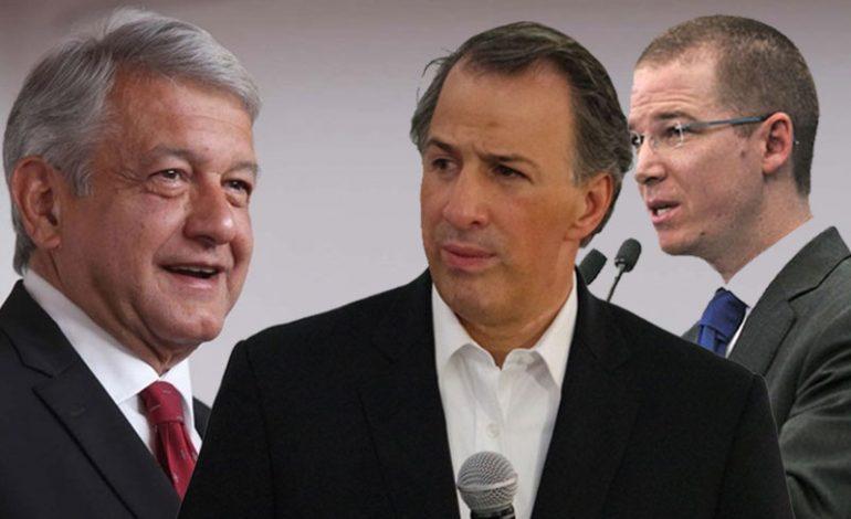 AMLO, Anaya y Meade. El inicio de la feroz batalla por la silla presidencial