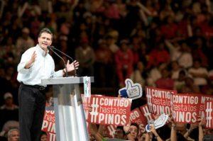 Aplausos para Peña Nieto