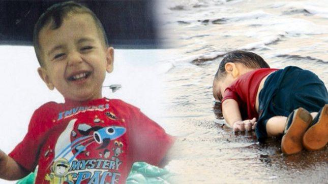 Aylan, el niño en el mar
