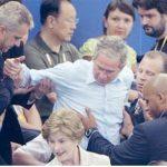 George W. Bush Olímpicamente Pedo.