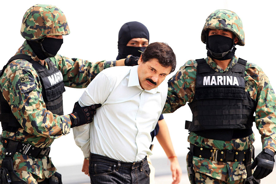 El Chapo sale el sábado por la noche