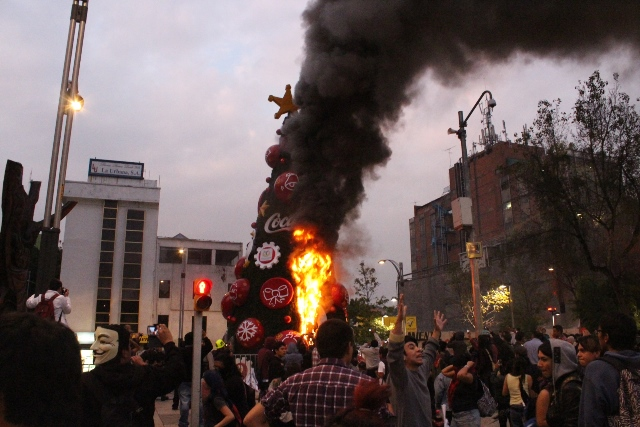Violencia en las manifestaciones