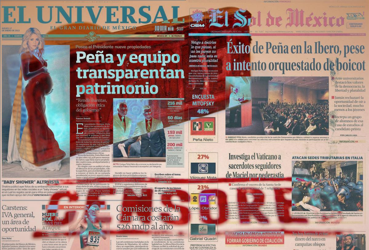 Extra, extra: la libertad de expresión ha sido puesta en venta