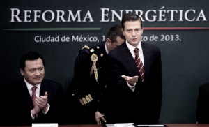 La reforma energética de Peña Nieto, una llamarada de petate