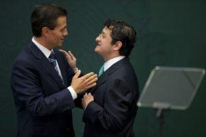 Peña Nieto y Virgilio Andrade