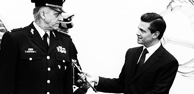 Enrique Peña Nieto y la espadita