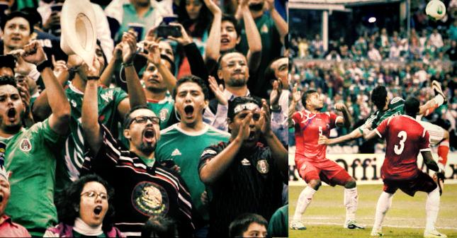 Leal afición mexicana futbolera conformista