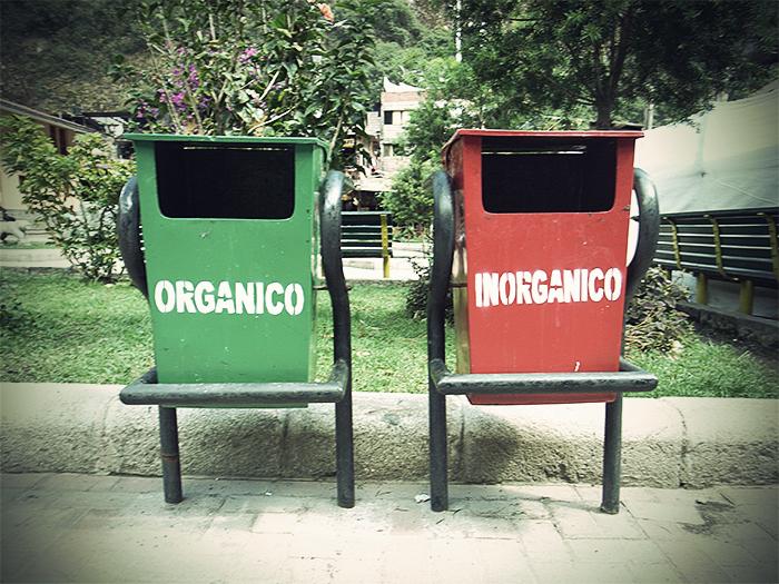 Orgánico e inorgánico, civilizados e incivilizados