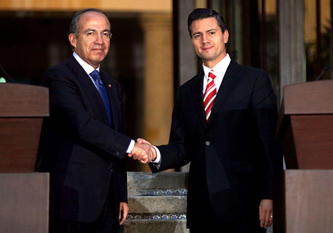 Peña Nieto vs Felipe Calderón