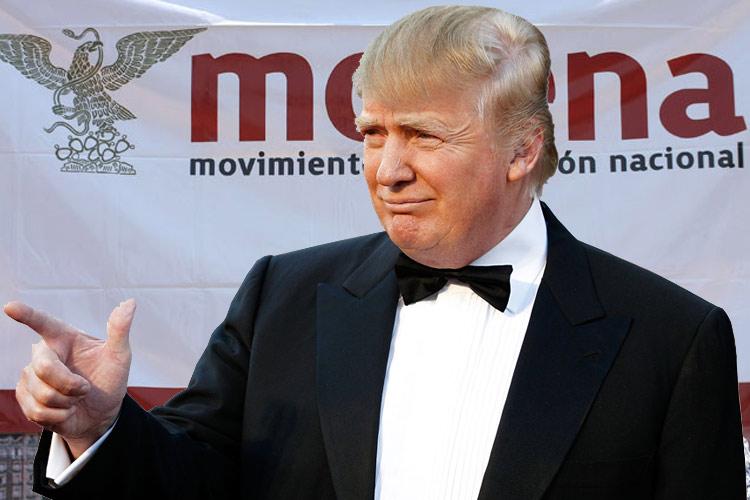 Andrés Manuel López Donald Trump