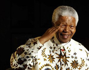 Estamos lamentando la muerte de Mandela, maldito naco