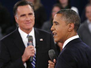Obama, Romney y el huracán Sandy