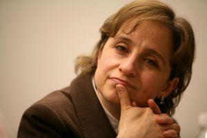 La señora Carmen Aristegui