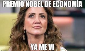 Andrea Legarreta y el dólar no es culpa de Peña