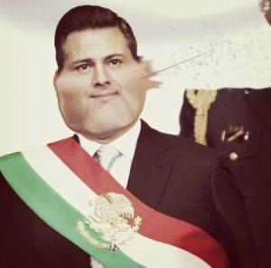 Peña Nieto se desinfla