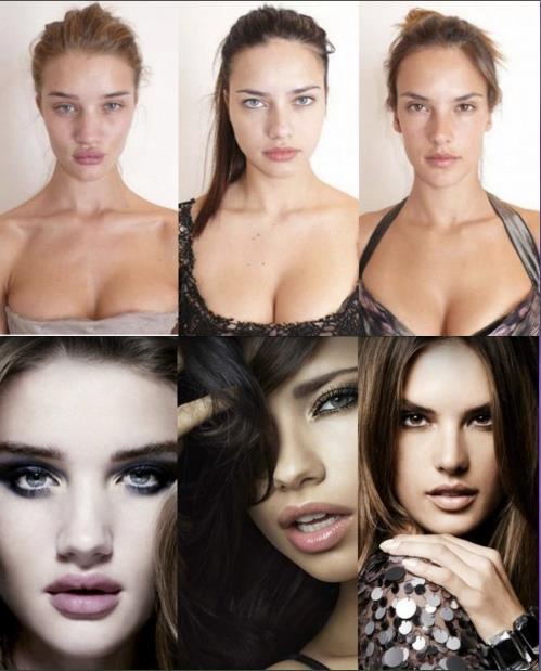 Maquillaje y Photoshop